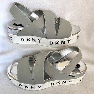 NEW DKNY Platform Sandals